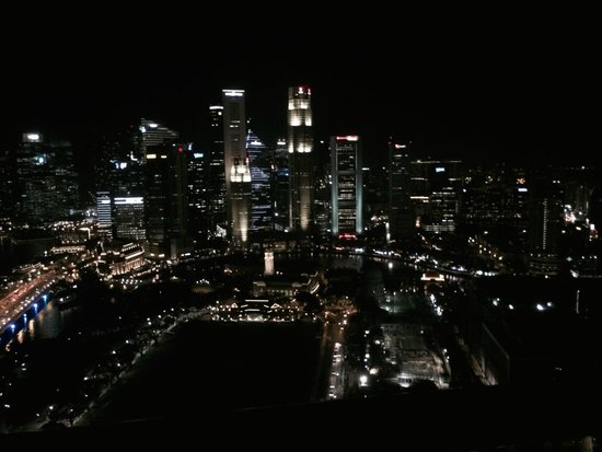 Swissotel The Stamford Singapore: marina bay night