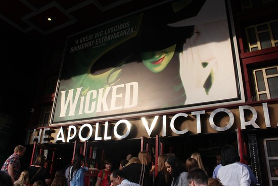 Wicked the Musical: L'entrée