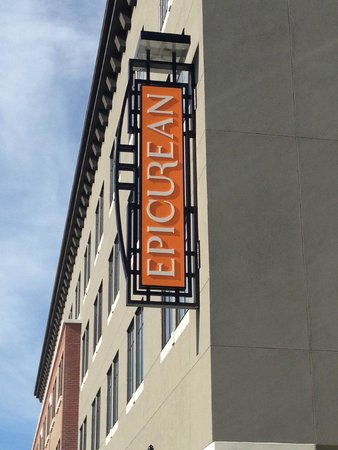 Epicurean Hotel, Autograph Collection: Exterior Signage