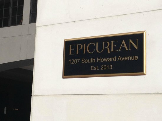 Epicurean Hotel, Autograph Collection: Hotel sign