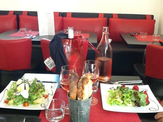 Le Bistrot Gourmand : Beautiful salads.