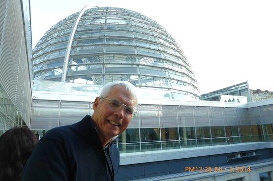 Plenarbereich Reichstagsgebäude: Top ofdome