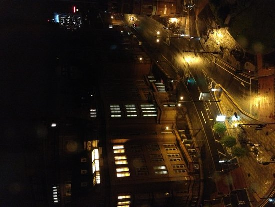 SACO Manchester - Piccadilly: Night time view