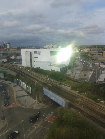 The Big Sleep Hotel Cardiff by Compass Hospitality: view from room 701 (cardiff uni)