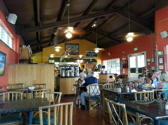 Kalaheo Cafe & Coffee Company: Eclectic store front!