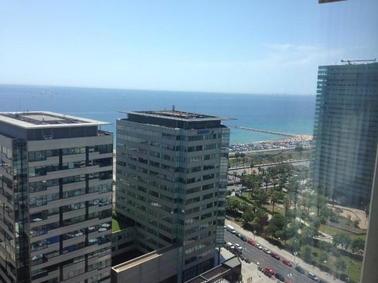 Hilton Diagonal Mar Barcelona: View from the 19th floor