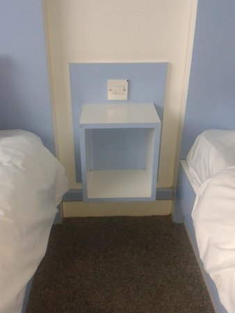 The Big Sleep Hotel Cardiff by Compass Hospitality: bedside thing