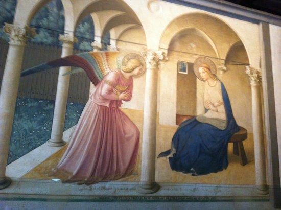 Museo di San Marco: anunciación