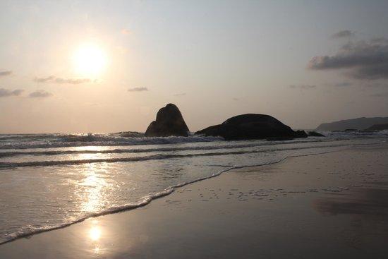 Agonda Beach: Потрясающий закат на Агонде!