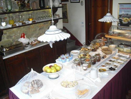 La Piana : Zeer ruim ontbijt aanbod