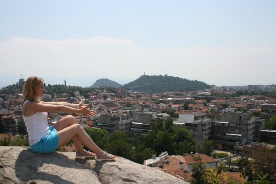 Plovdiv Old Town: Вид на старый Пловдив