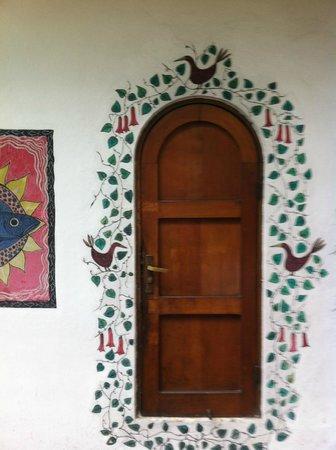 La Chascona Casa Museo: Porta decorada La Chascona