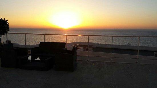 Hotel Farah Tanger : couché de soleil
