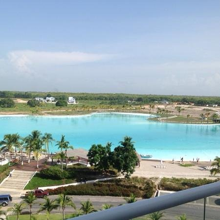 Hotel Playa Blanca Beach Resort : view from balcony of Town Center Suites unit