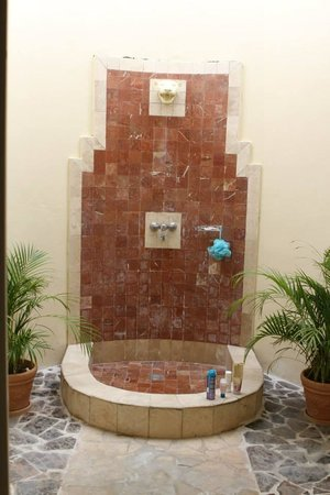Grand Palladium Jamaica Resort & Spa: Walk out shower in villas