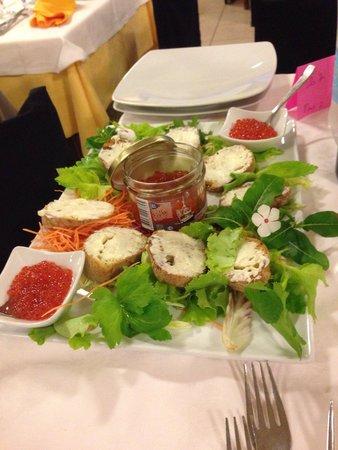Hotel Corsaro: La cena romantica....))))