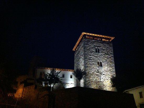 Hotel Rural Torre de Uriz: Exterior de noche