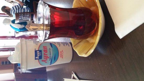 Harput: turkish tea .. and ayran.. yummy