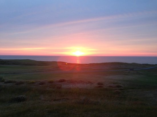 Cabot Links Resort: Sunset