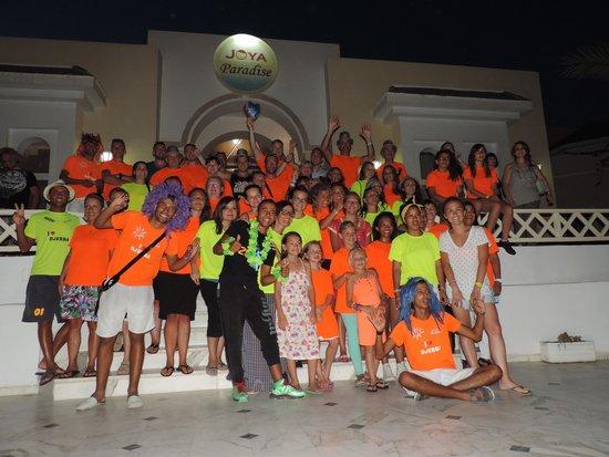 Joya Paradise : Flash Mob ! excellent !