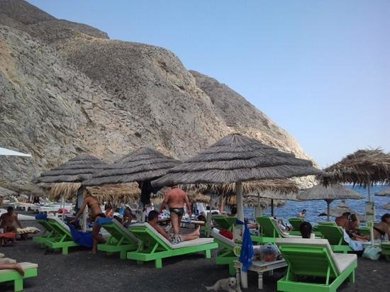 Perissa Beach: nice