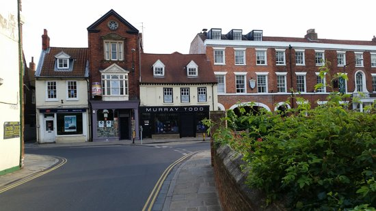 Location of Café Velo, Beverley