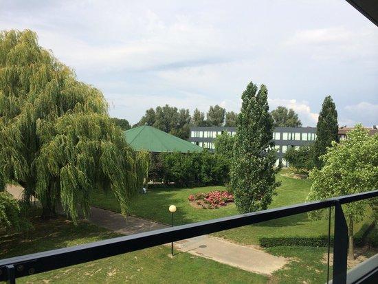 Van der Valk Hotel Heerlen : View from Welness suite