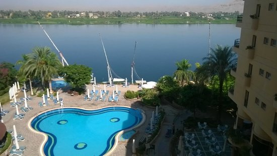 Steigenberger Nile Palace Luxor: nile view