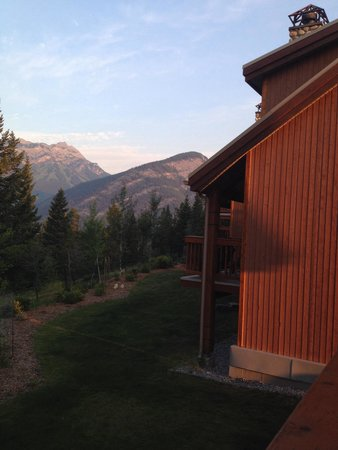 Hidden Ridge Resort: Beautiful sunset views from our balcony.