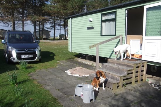 Point Sands Holiday Park : The caravan