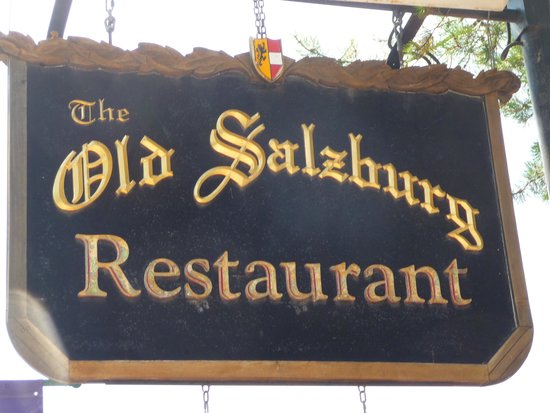 Old Salzburg Restaurant: what to look for.