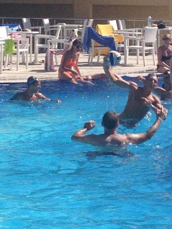 Marcan Resort Hotel: Water polo great fun
