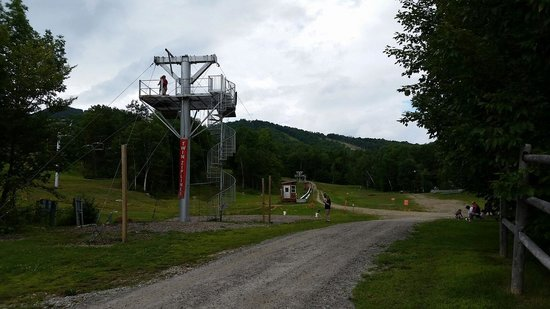 Sunday River Ski Resort: Zip line and Disc Golf Course