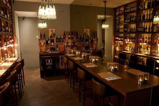Bebedouro-Wine and food: Interior
