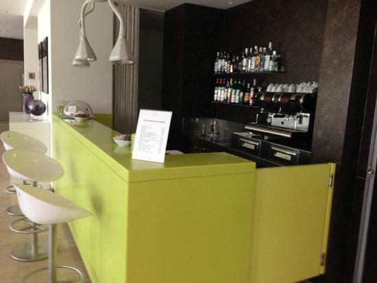 Mercure Venezia Marghera hotel: Reception bar