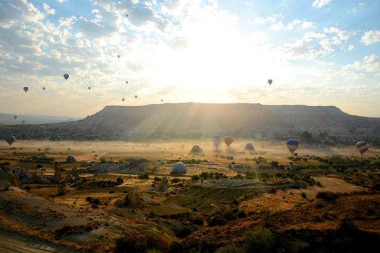 Kapadokya Balon Turu: View from Baloon