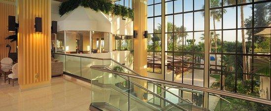 Elias Beach Hotel : холл