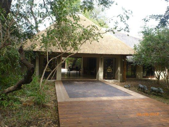 Lion Sands River Lodge : River Lodge Lobby