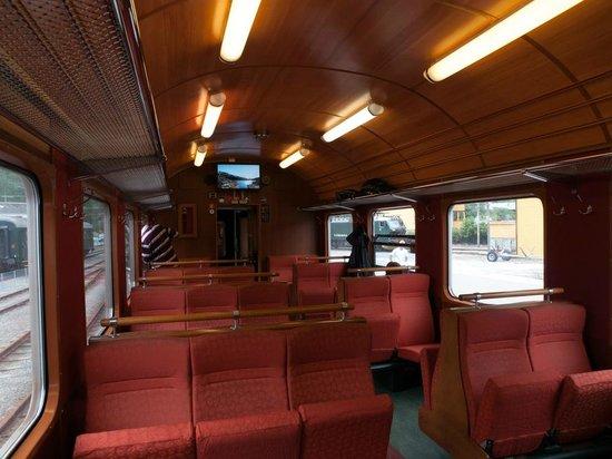 The Flam Railway : Поезд