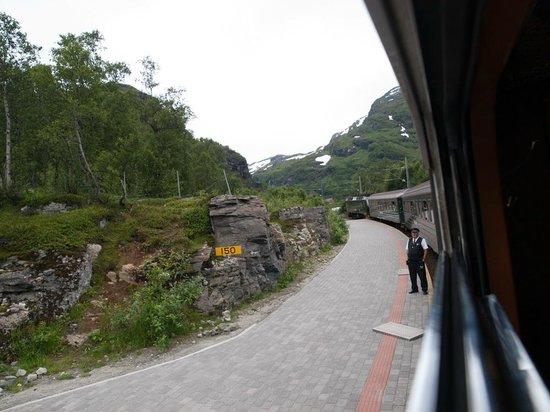 The Flam Railway : Остановка