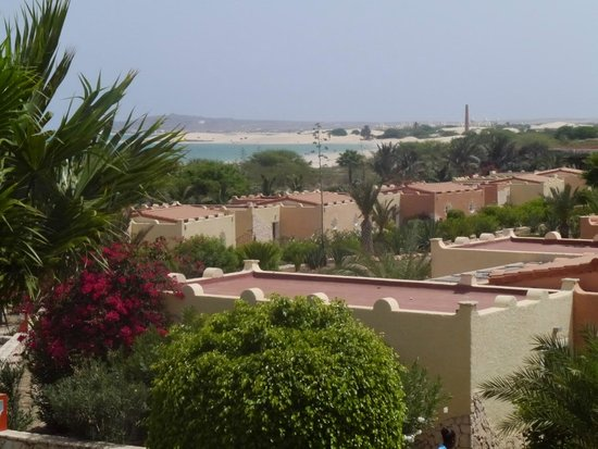 Royal Horizon Boa Vista : zicht vanuit de kamer