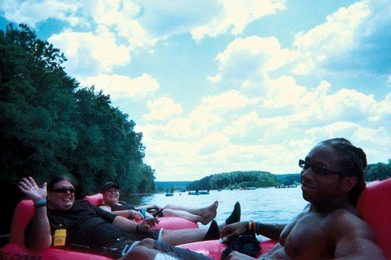 Delaware River Tubing: Another great day @ DRT!!!!