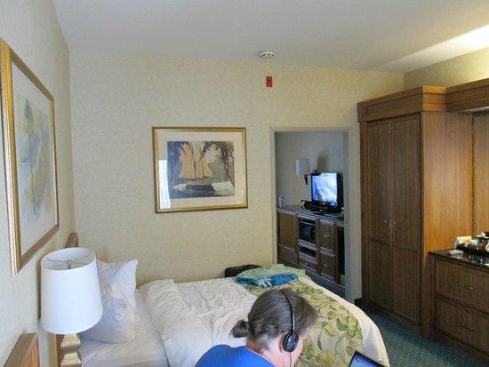 Quality Suites San Luis Obispo: Bedroom