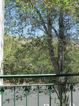 Quality Suites San Luis Obispo: View from bedroom.