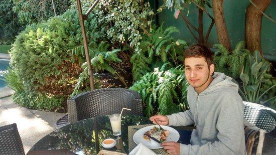 Hotel Bidasoa: Terraza