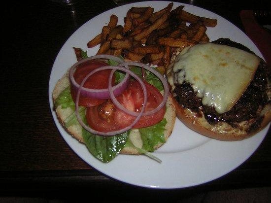 L'Horloge: Hamburger