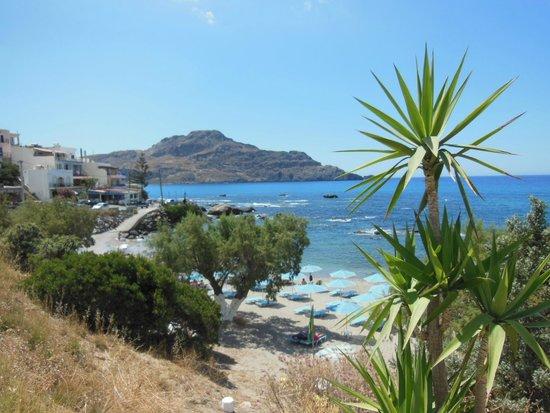 Plakias Beach : beach of Plakias
