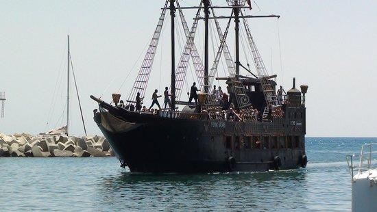 Dar Khayam Hotel : the pirate ship
