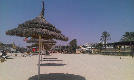 Dar Khayam Hotel : the stunning beach without lifeguards