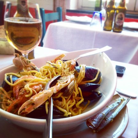 Trattoria Dal Billy: Mixed Seafood Dish